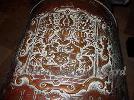 Armorial Bearings on a Canon